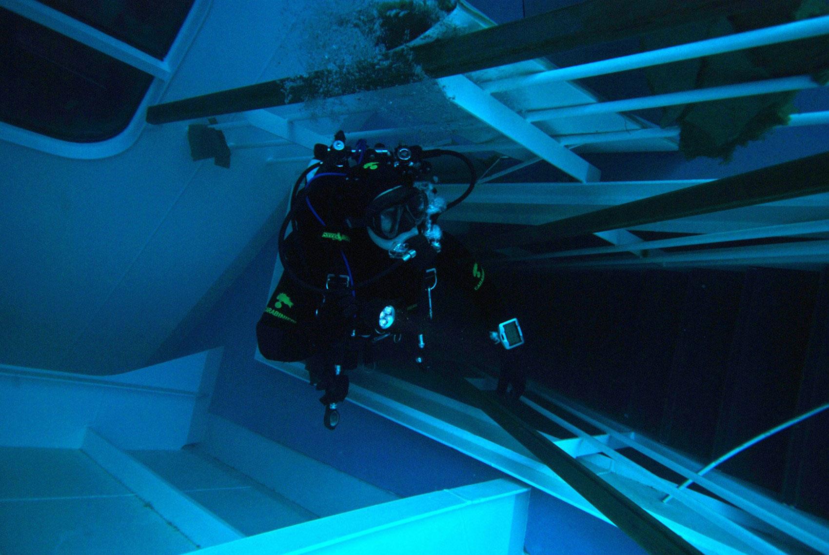 спасатели на лайнере, фото