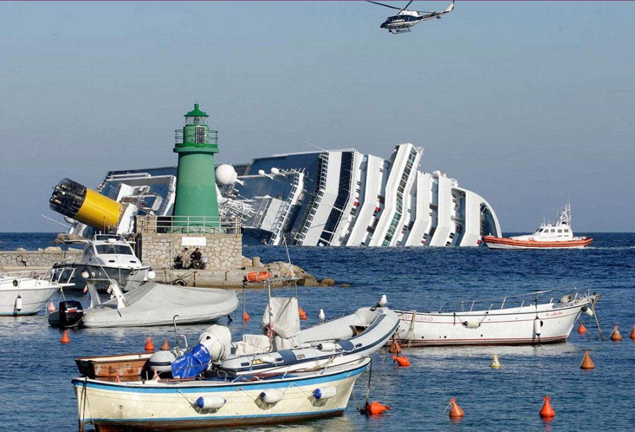 эвакуация иностранцев с Costa Concordia