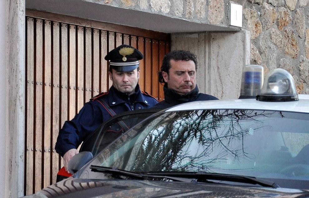 Арест капитана судна Франческо Скеттино