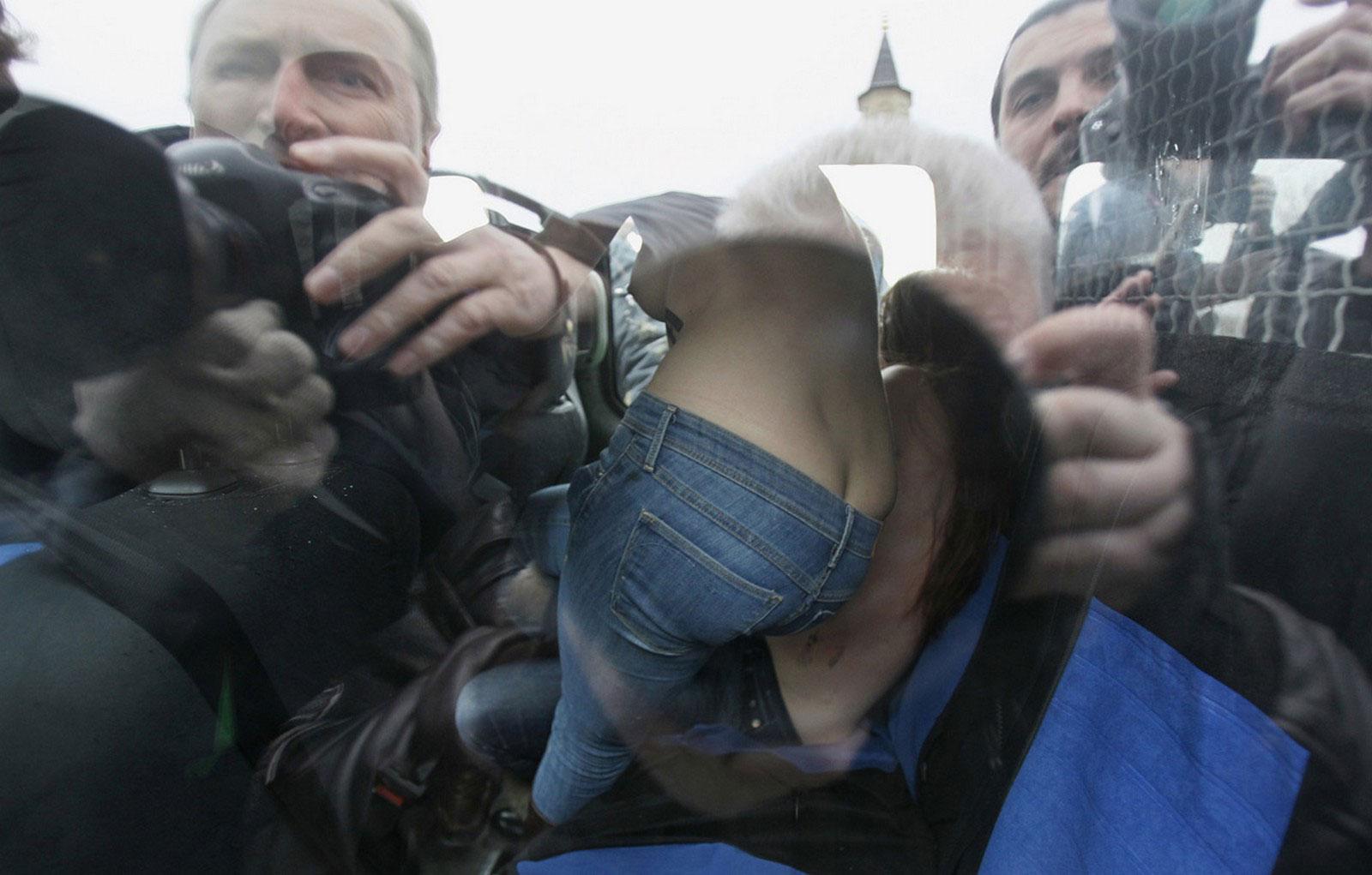 задержанные активистки за права женщин