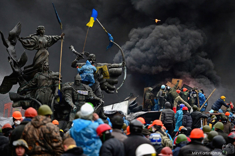 Антиправительственные демонстранты