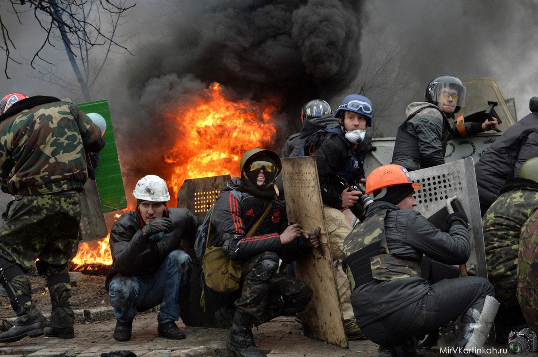Антиправительственные протестующие