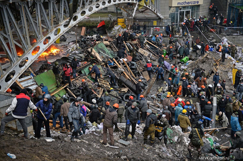 столкновения в Украине