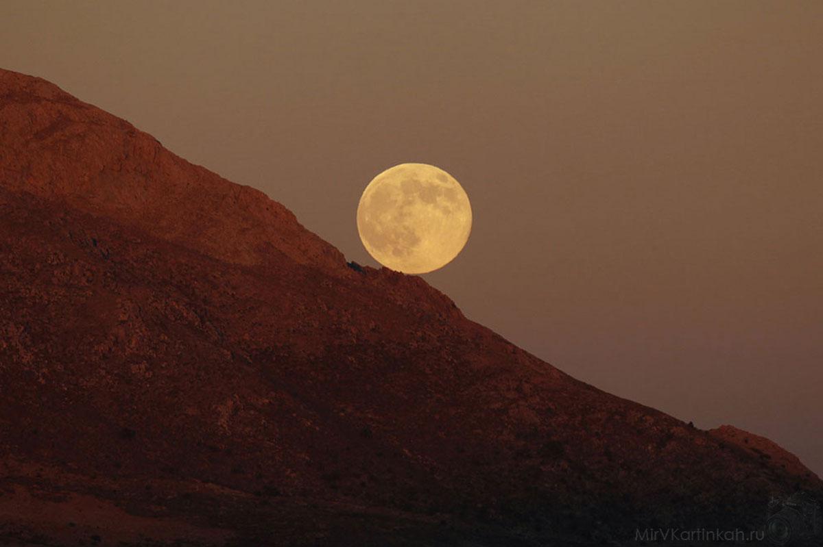 луна в Испании