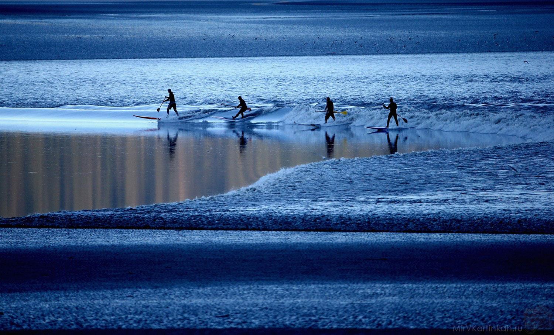 Любители поймать волну