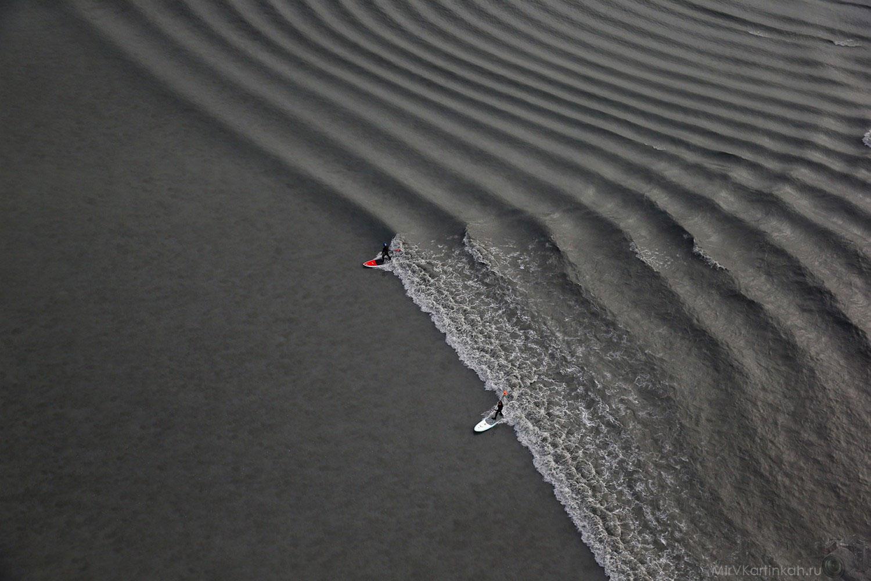 Серфингисты в заливе