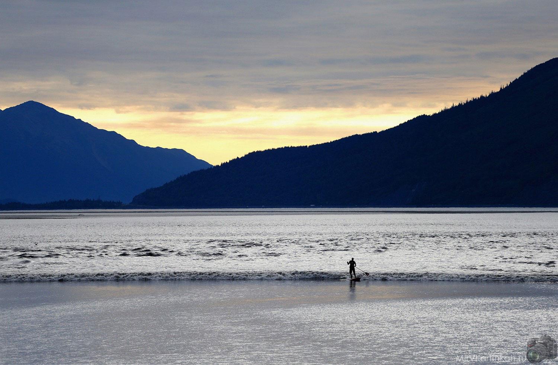 прилив на Аляске