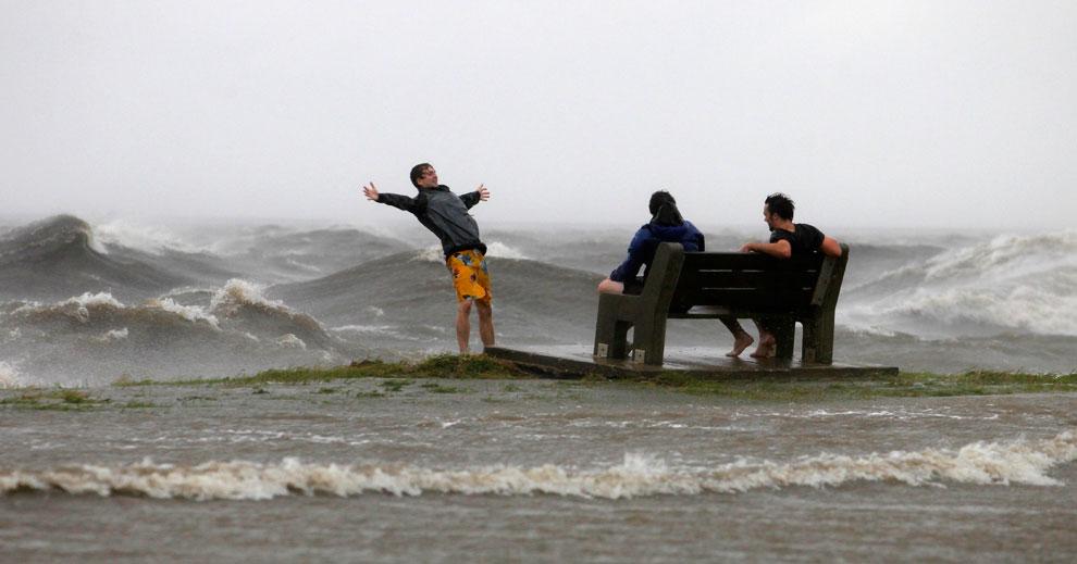 шторм в Новом Орлеане