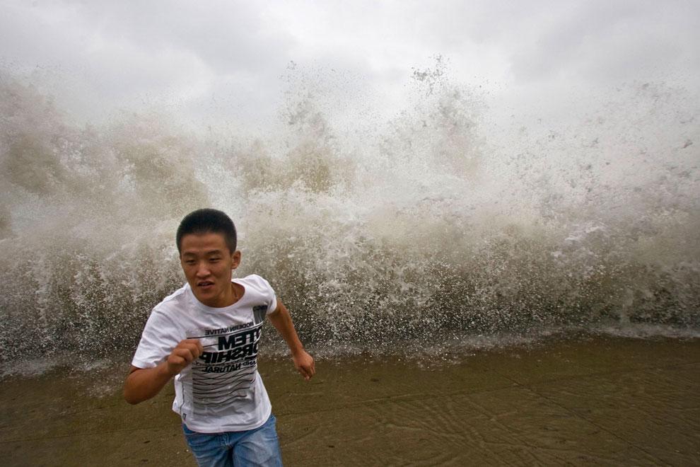 тайфун Bolaven в Китае