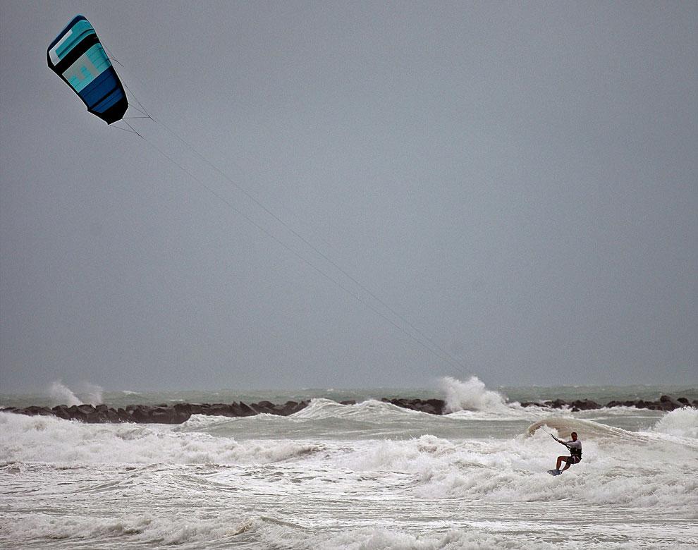 ураган Исаак в Майами