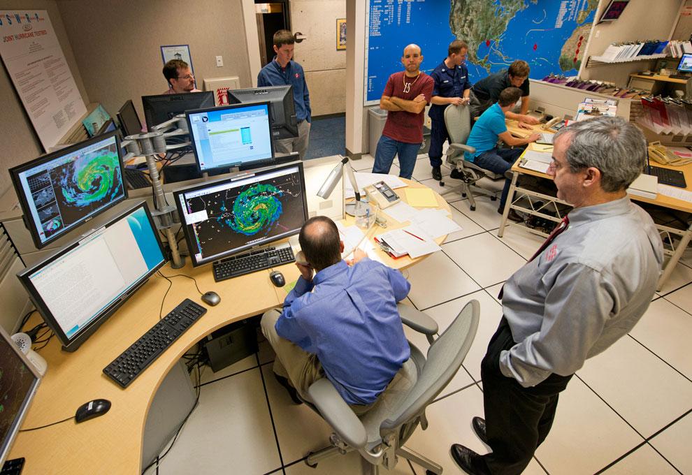 Национальный центр ураганов в Майами