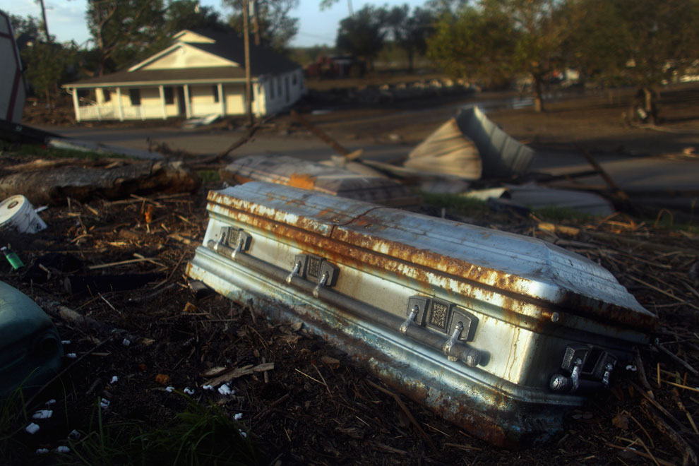 наводнение в Луизиане, ураган Исаак