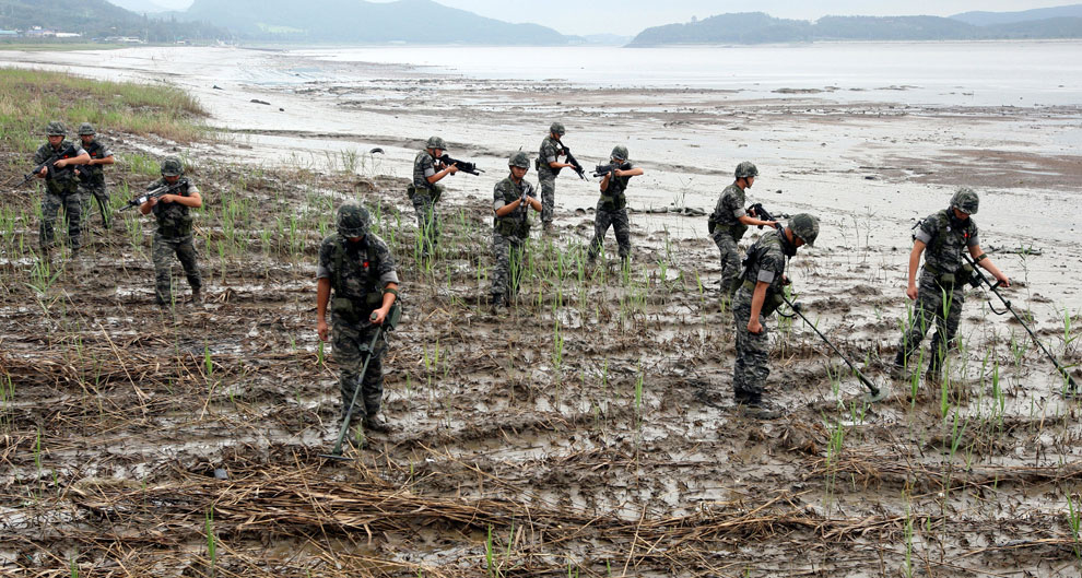 миноискатели в Южной Корее