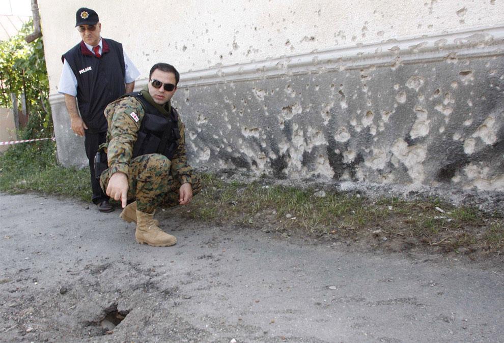 конфликт на границе c Южной Осетией, фото