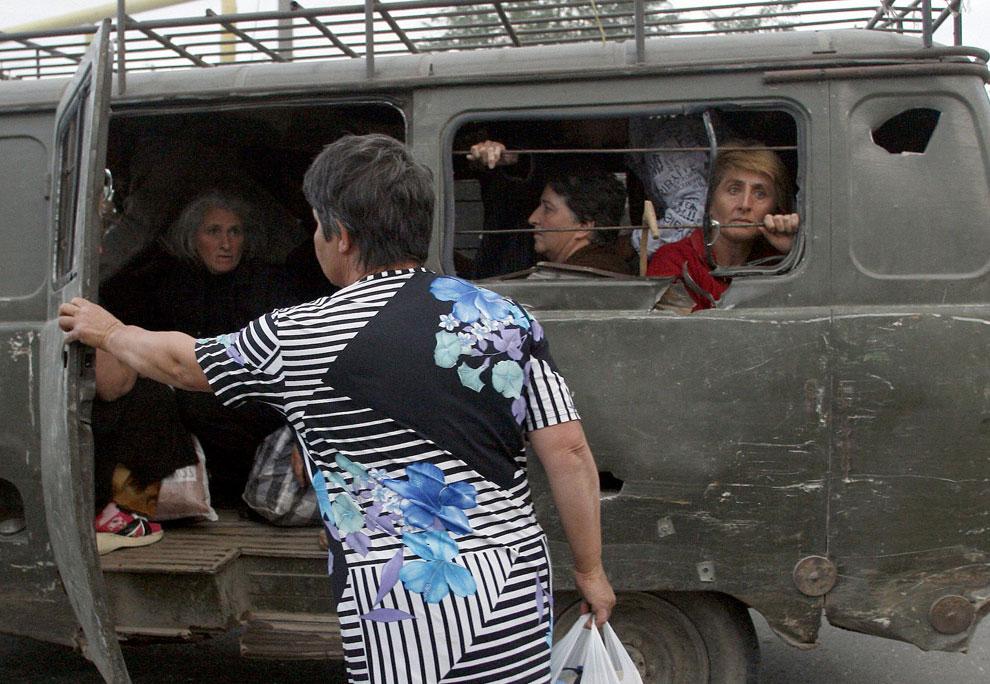 эвакуация населения, фото