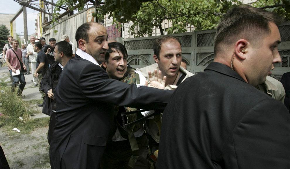 президент Грузии Михаила Николозовича Саакашвили, фото