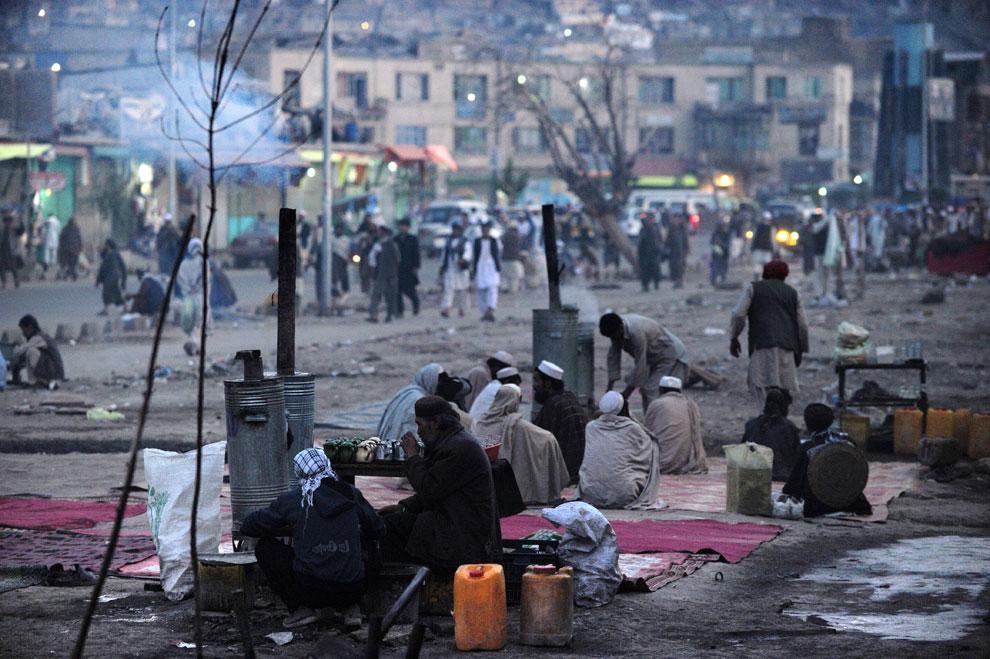 Чаепитие в Кабуле