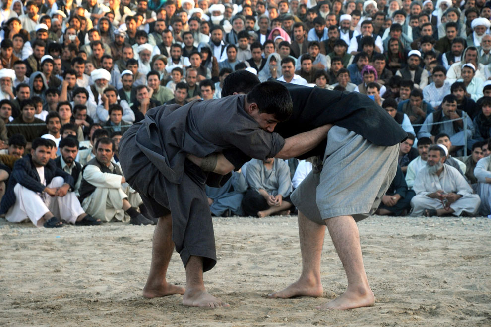 Афганская национальная борьба