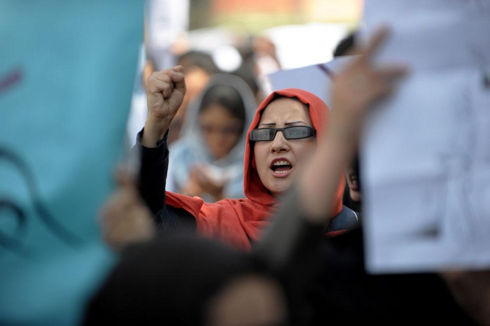 Афганские современные женщины