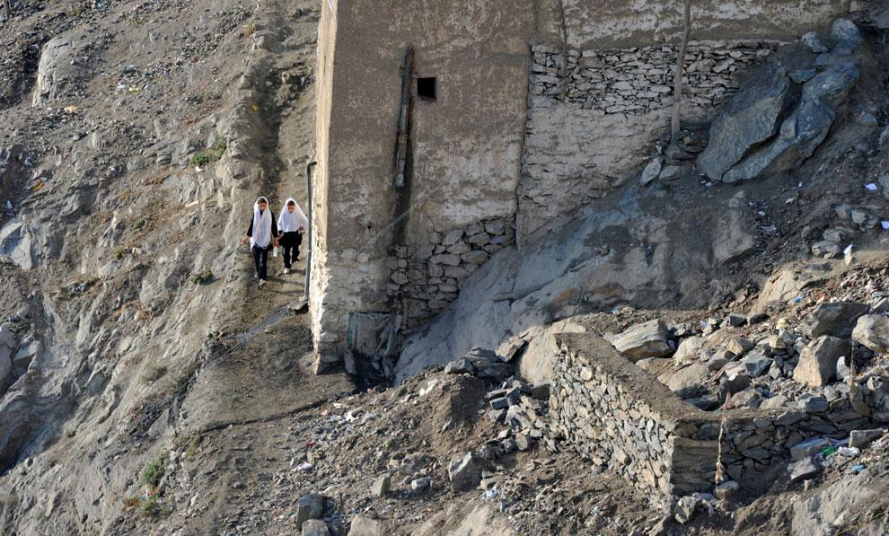 школа на холме Кабула