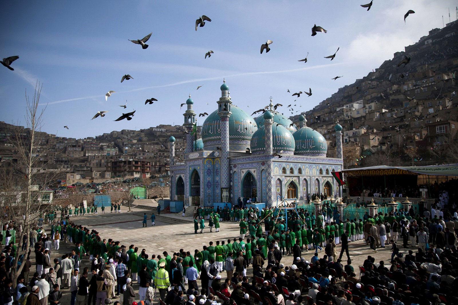 мечеть Kaрт-е Сахи в Кабуле