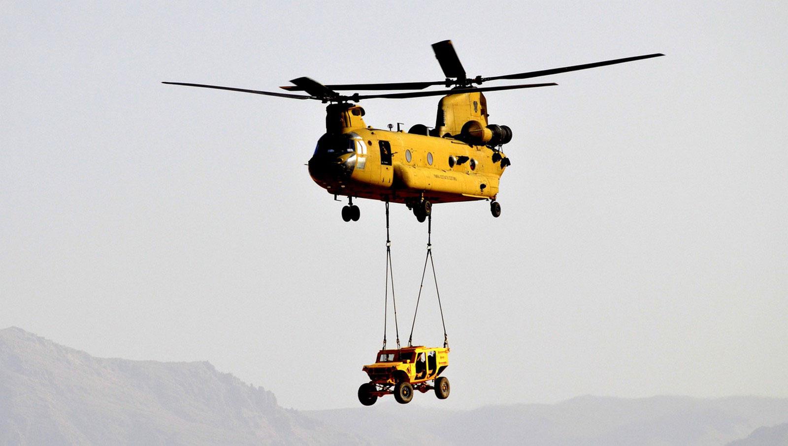 Боинг CH-47, фото
