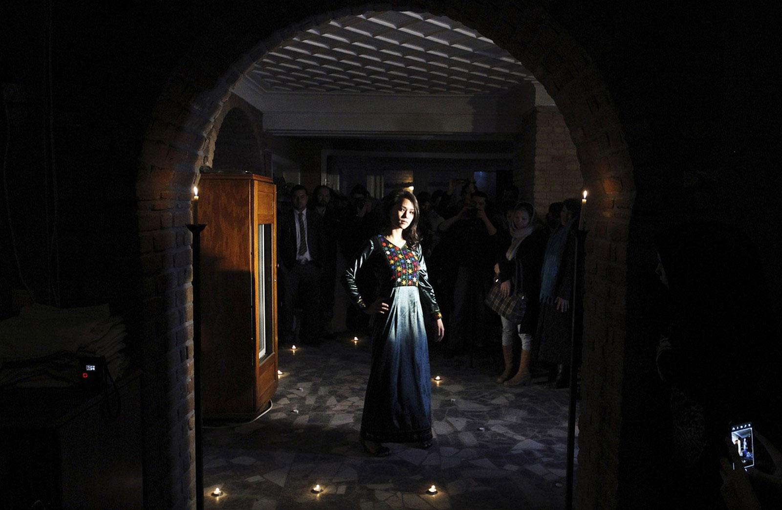 показ мод в Кабуле