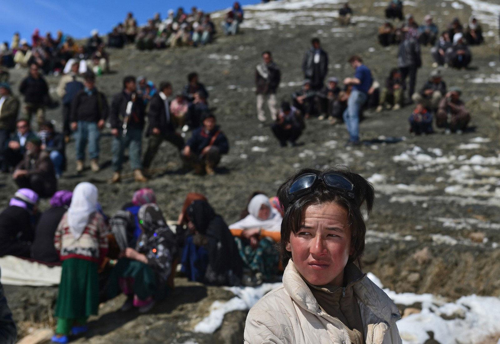 в горах Гиндукуш