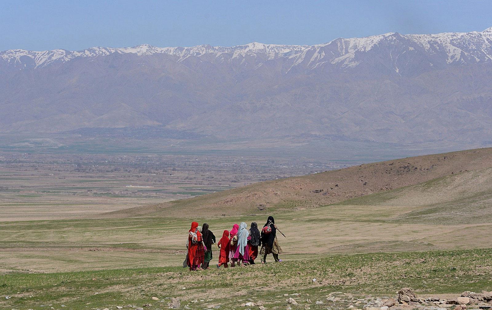 по дороге Кабул-Баграм