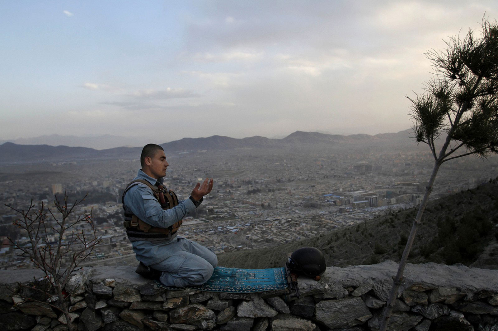 Афганский полицейский