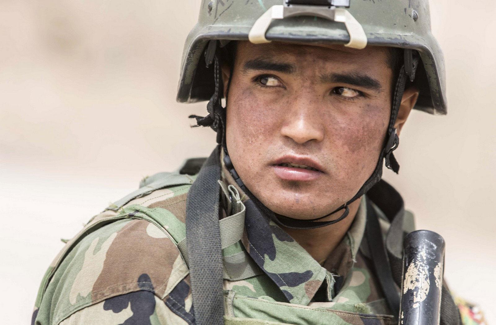 Командос афганской национальной армии