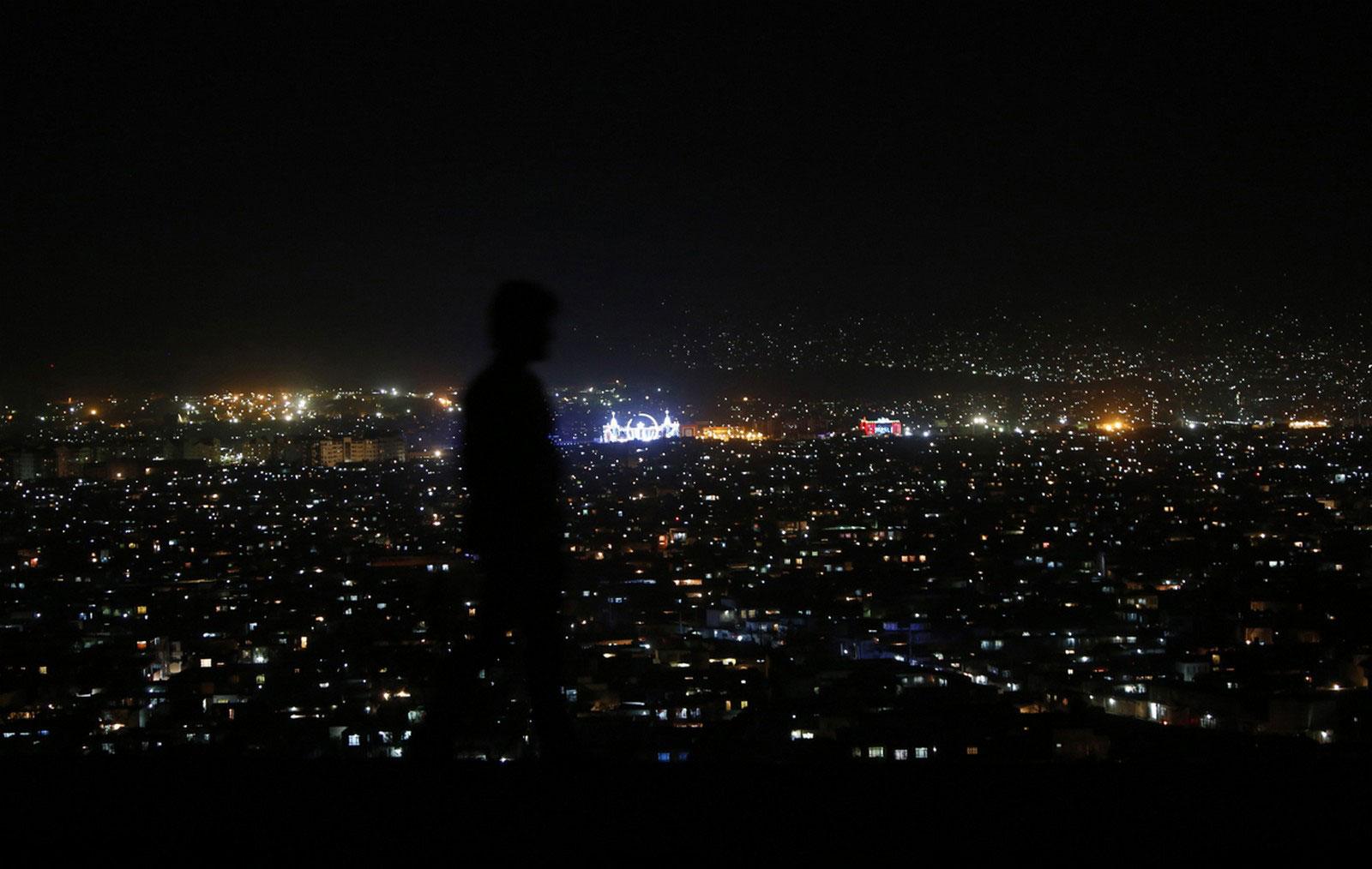 на холме с видом на Кабул