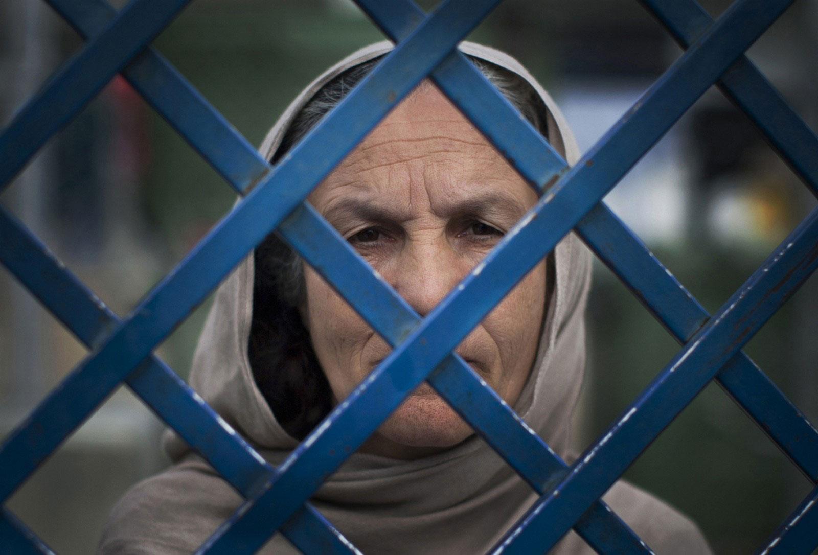Афганская заключенная
