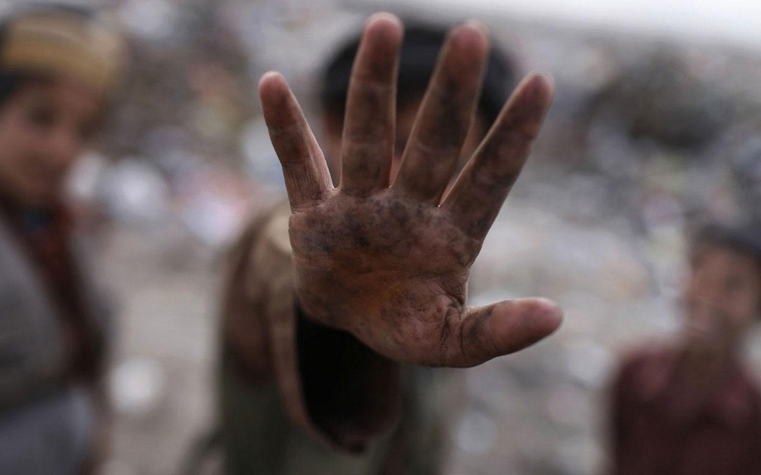 фото на одной из свалок Кабула