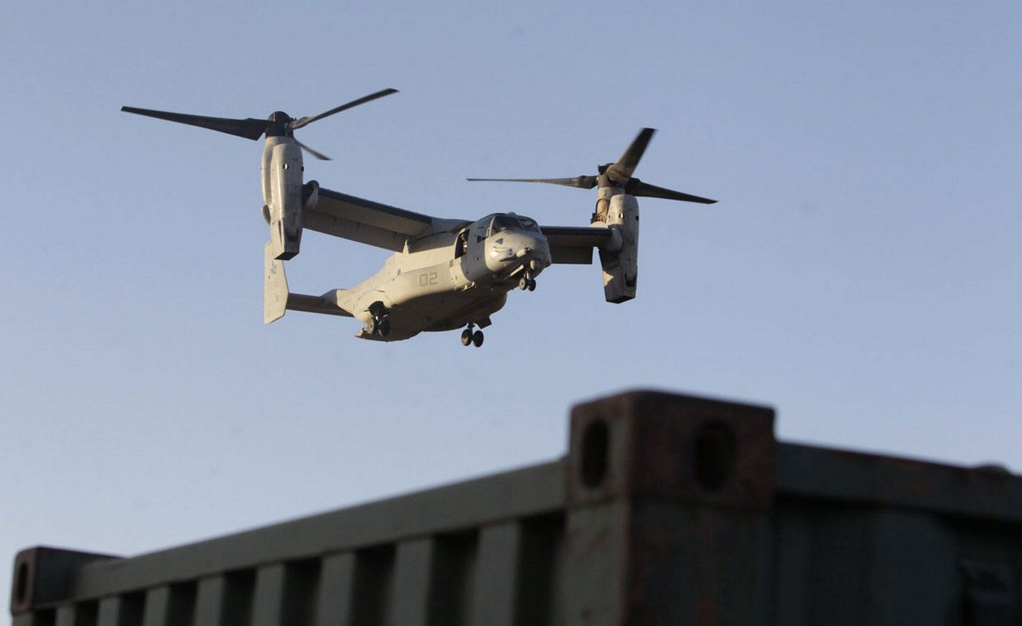 Вертолет морской пехоты США