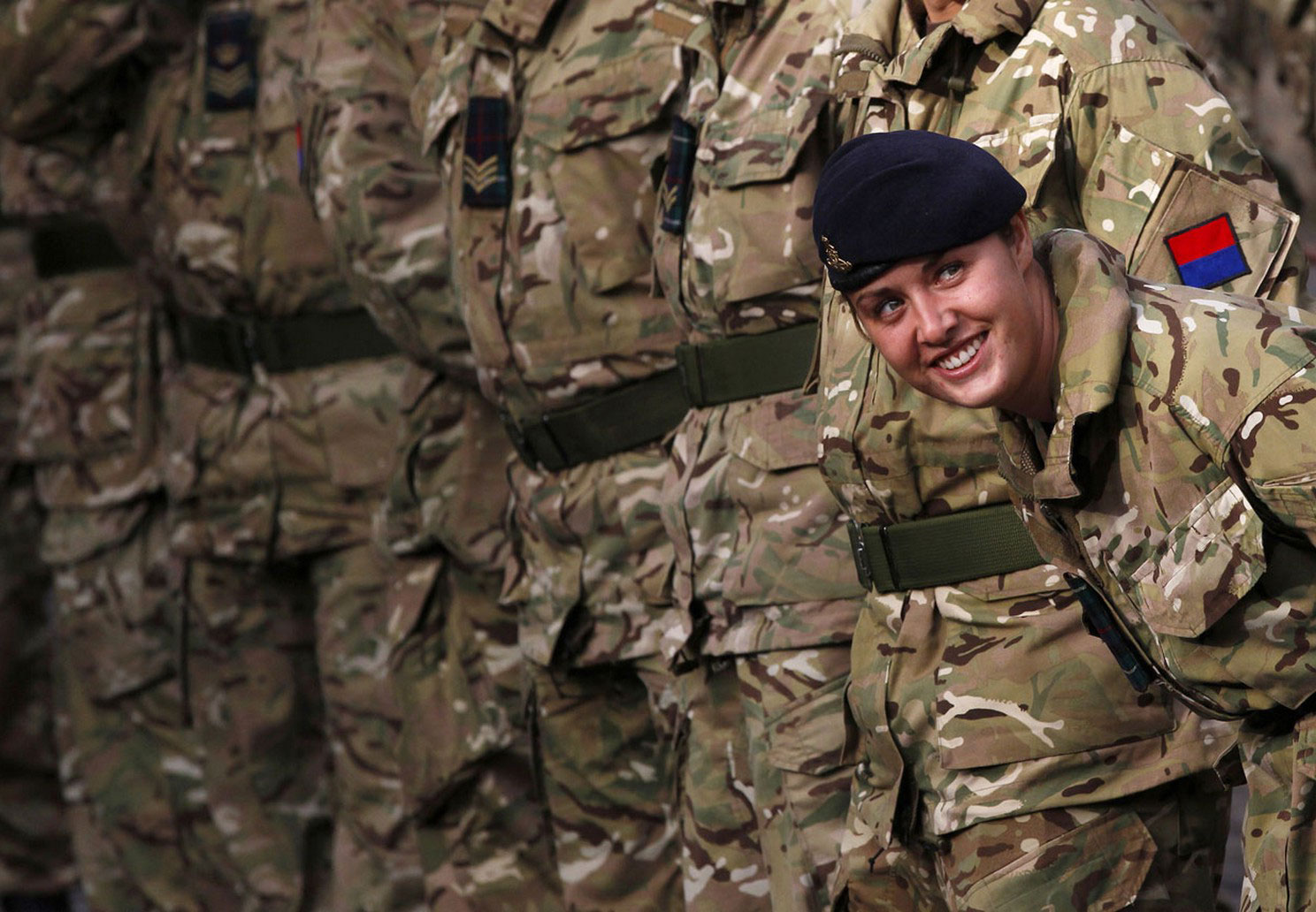 возвращения на родину после службы в Афганистане