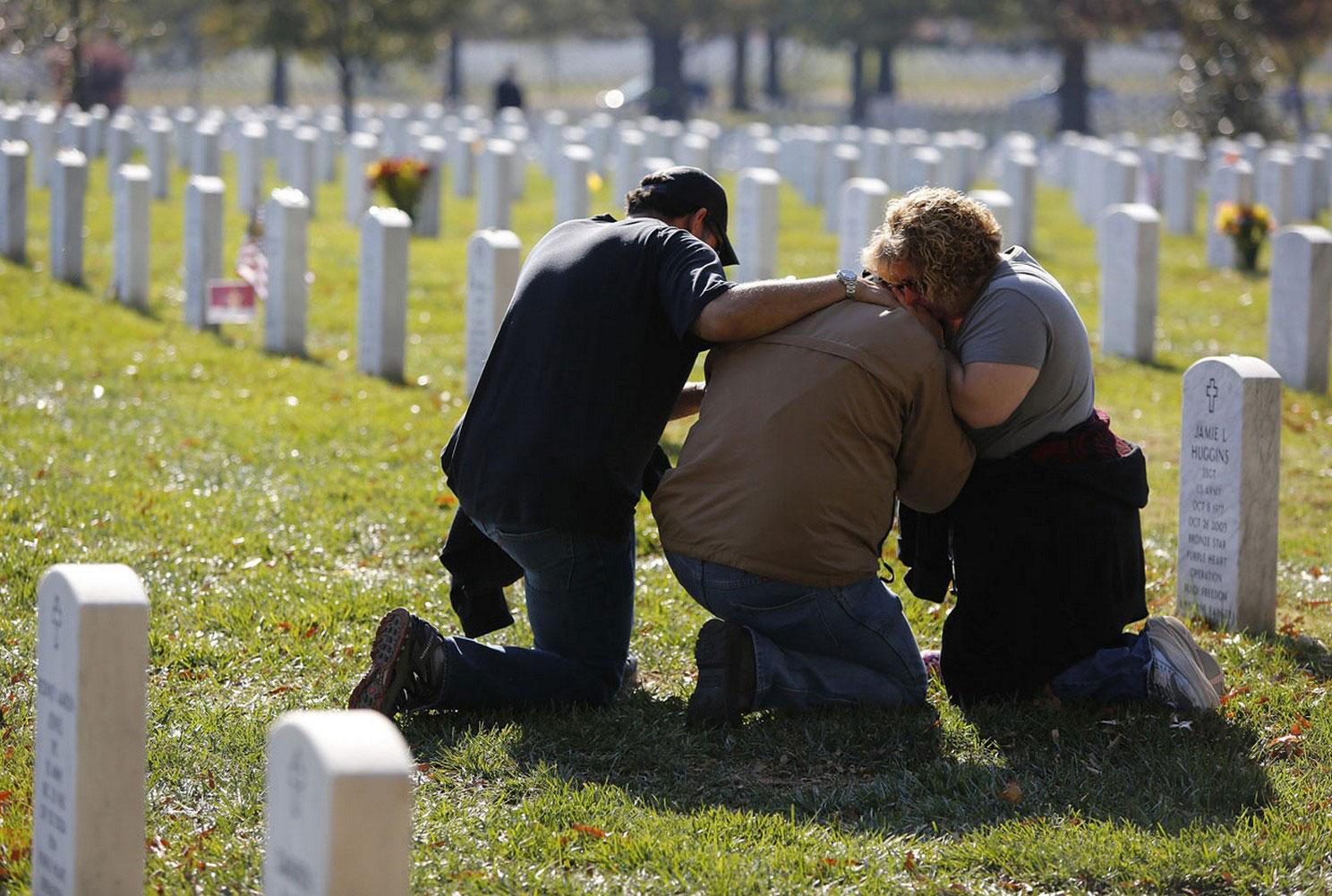 кладбище погибшим в Афганистане