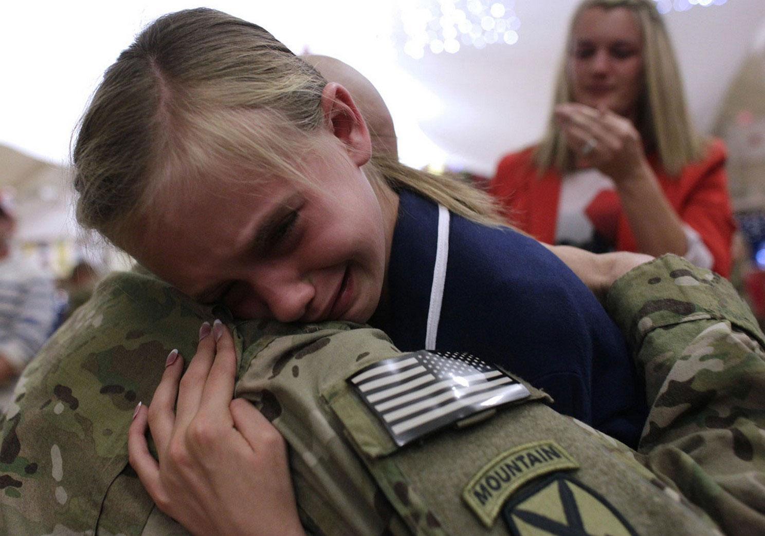 возвращение солдат из Афганистана