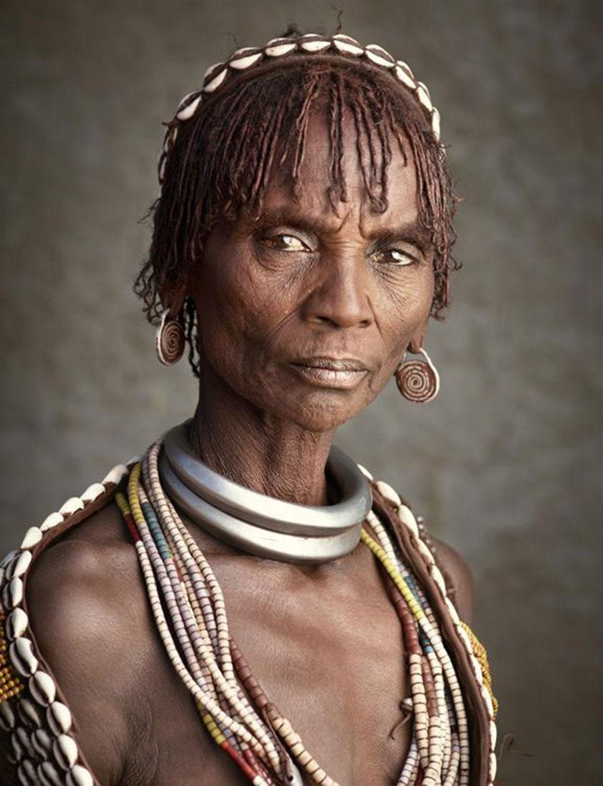 женщина из племени Хамер, фото, Эфиопия, Африка