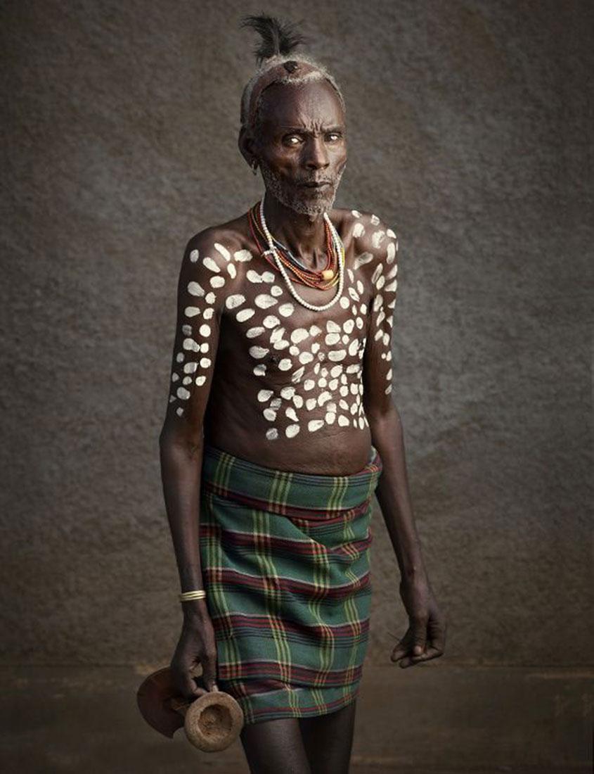 племя Каро, фото, Эфиопия, Африка