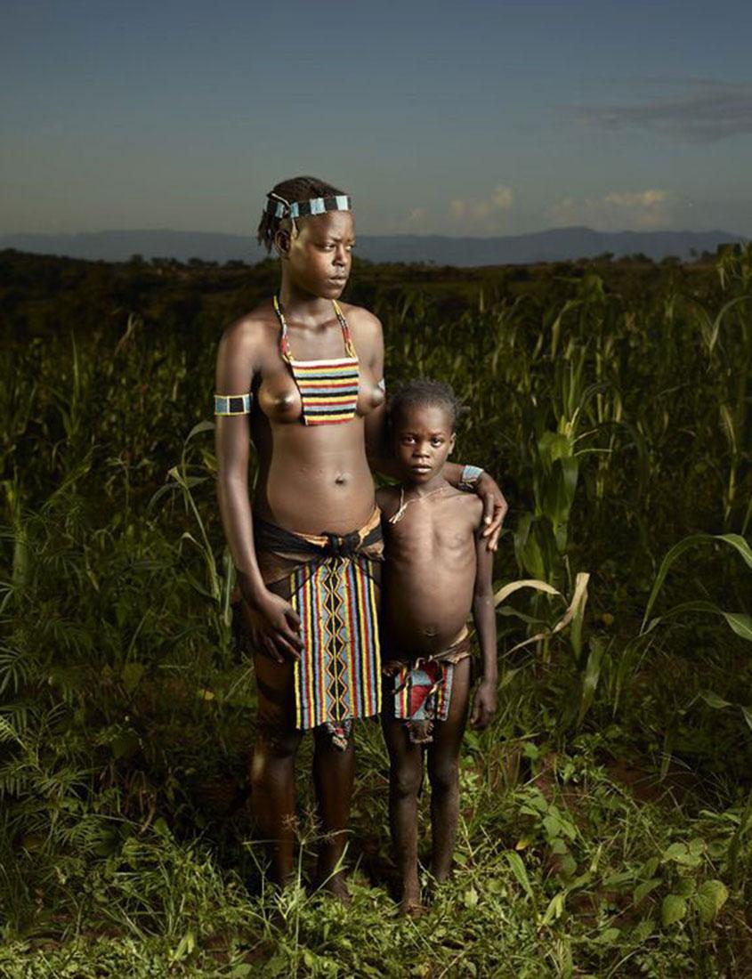 племя Бена, фото, Эфиопия, Африка