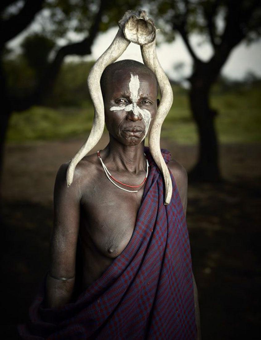 агрессивное племя Мурси, фото, Эфиопия, Африка
