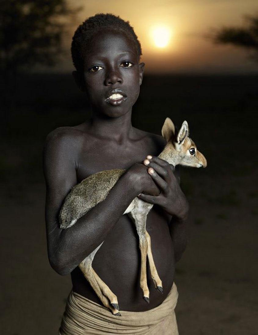 малочисленное племя Эфиопии, фото, Африка