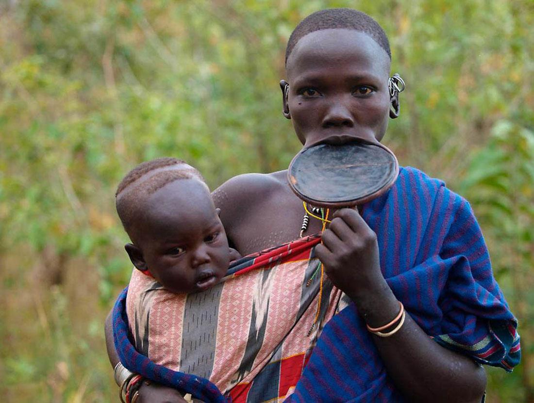 племена Эфиопии, фото, Африка