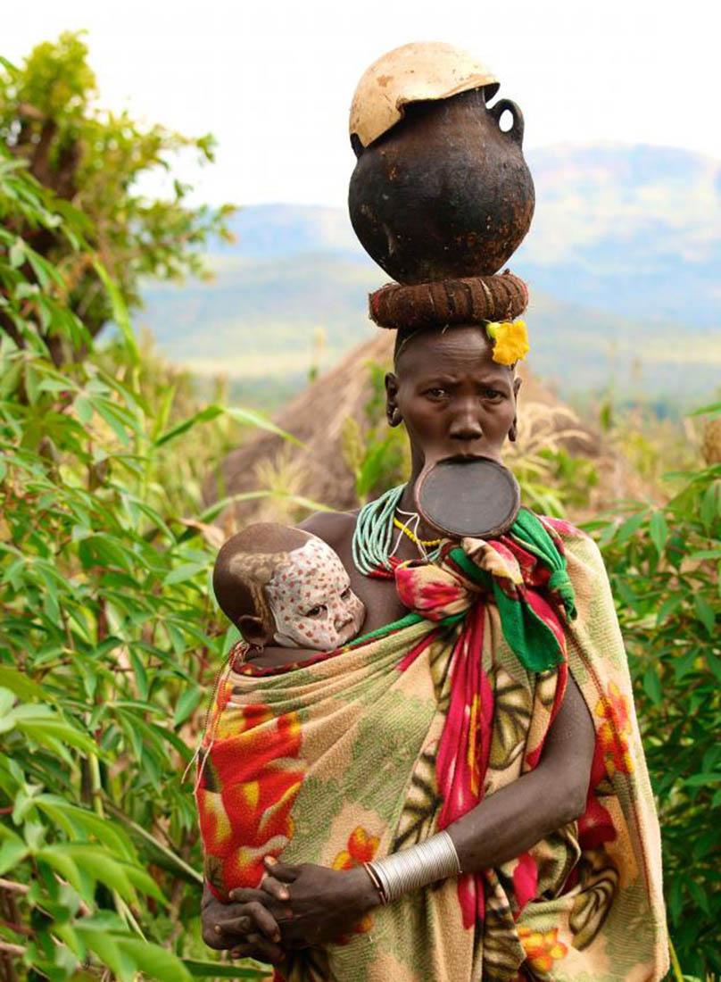 африканские племена, фото, Эфиопия