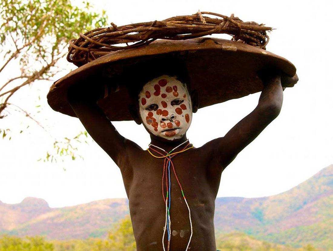 племена занимаются скотоводством, фото, Африка