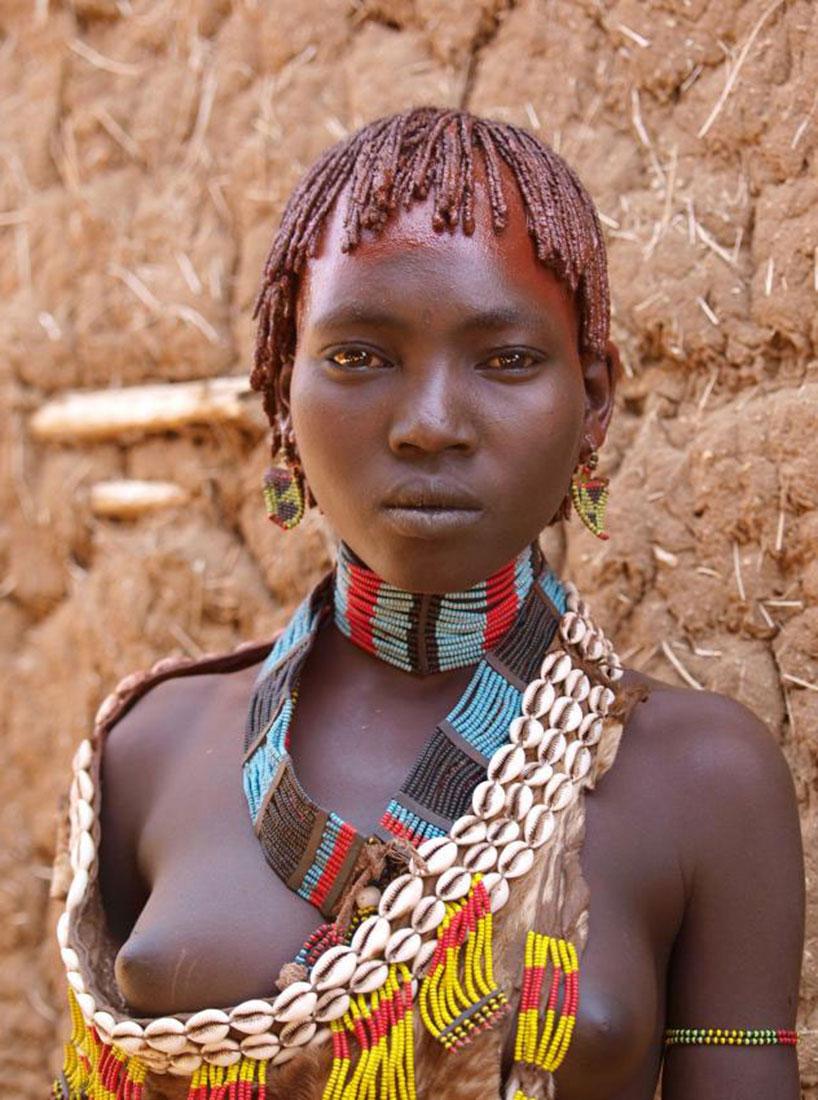 наряд племени Арборе, фото, Африка