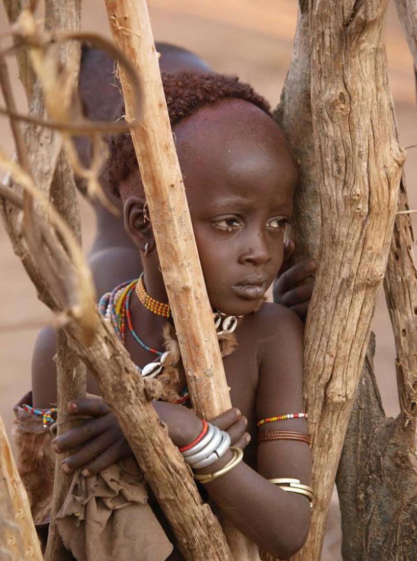 хижина эфиопского народа, фото, Африка