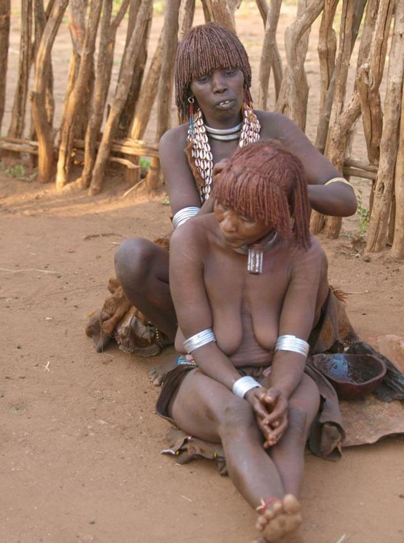прически эфиопского народа, фото, Африка