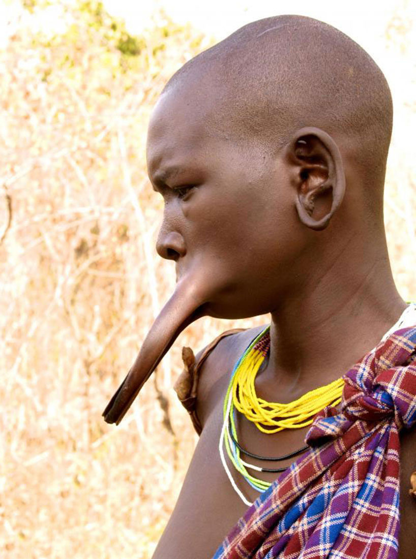 племена Сурма и Мурси, фото Африка